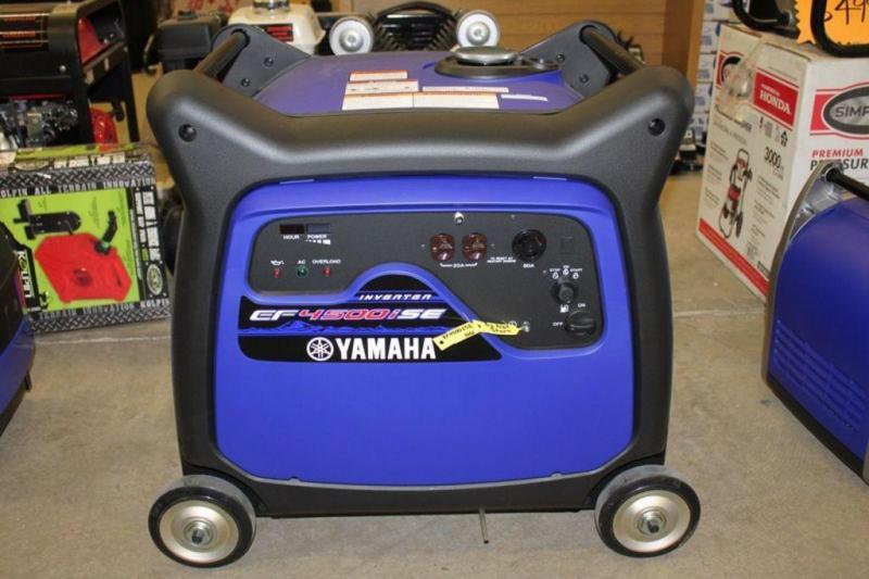 2018 Yamaha Whisper Quiet Generators