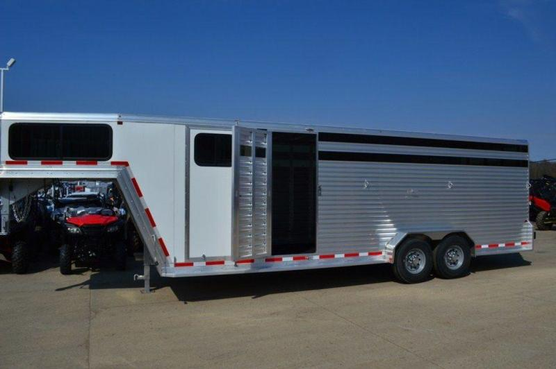 2017 Frontier 7 x 24 All Aluminum GN Combo Trailer For Sale
