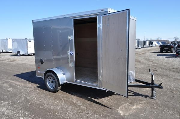 2020 American Hauler 6 x 10 Wedge Nose Enclosed Cargo Trailer For Sale