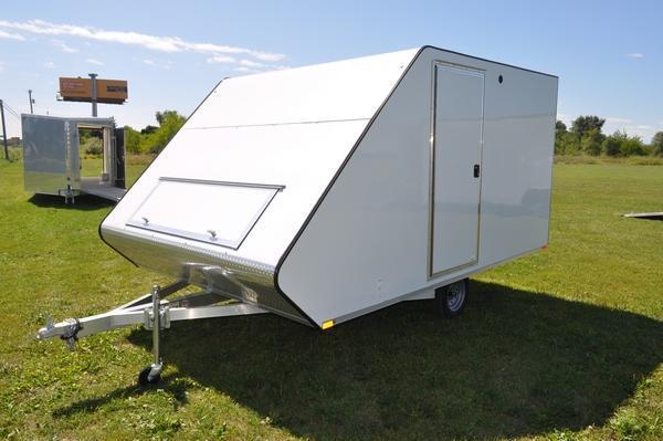"2020 Sport Haven 101"" x 13' Standard Hybrid for Sale Snowmobile Trailer"