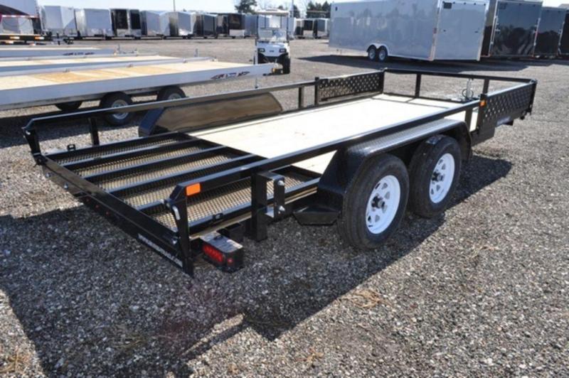 2020 Sure-Trac 7 x 16 Tandem Axle ATV Trailer For Sale