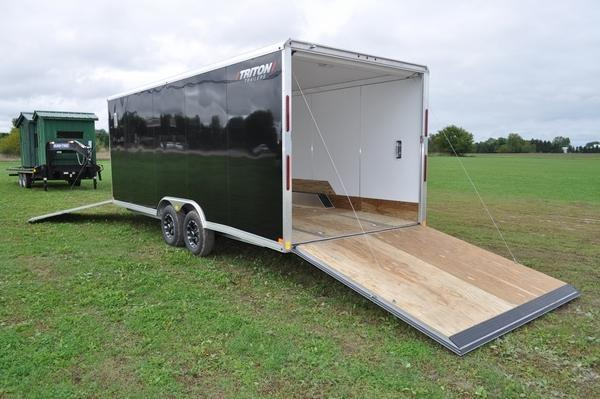 2020 Triton 8.5 x 25' All Aluminum Snowmobile Trailer For Sale