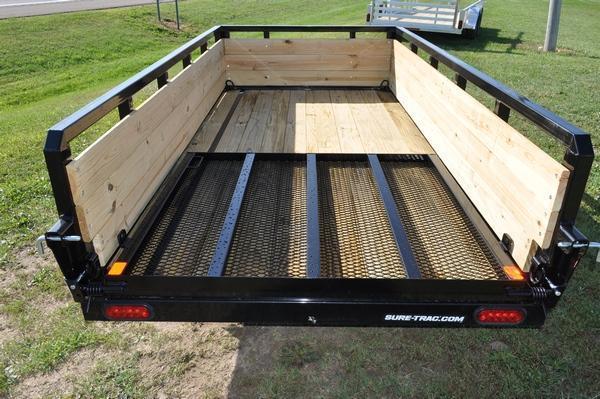 2020 Sure-Trac 5 x 10 3 Board High Utility Trailer For Sale