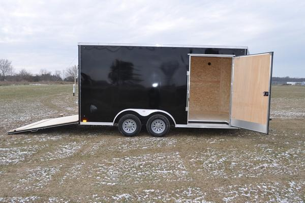 2020 Haul-it 8.5 x 16 Wedge Nose Enclosed Cargo Trailer For Sale