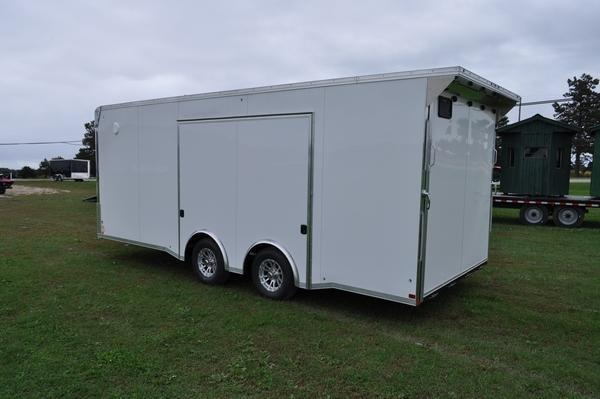 2020 Haul-it 8.5 x 20 LOADED Car / Racing Trailer For Sale