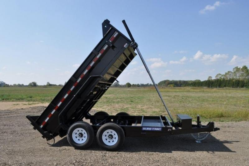 "2020 Sure-Trac 82"" x 12' Telescopic Dump Trailer For Sale"