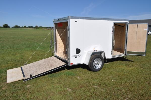 2020 Stealth Trailers 5 x 10 Enclosed Cargo Trailer