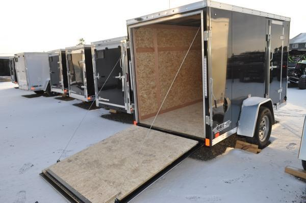 2020 Discovery Trailers 5 x 10 Wedge Nose Enclosed Cargo Trailer For Sale