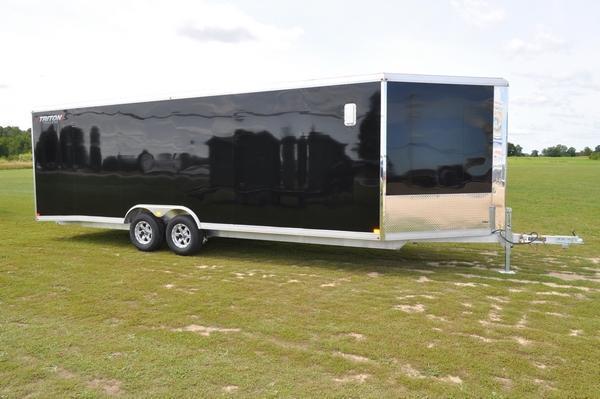 2020 Triton 8.5 x 24 + 5 Snowmobile Trailer