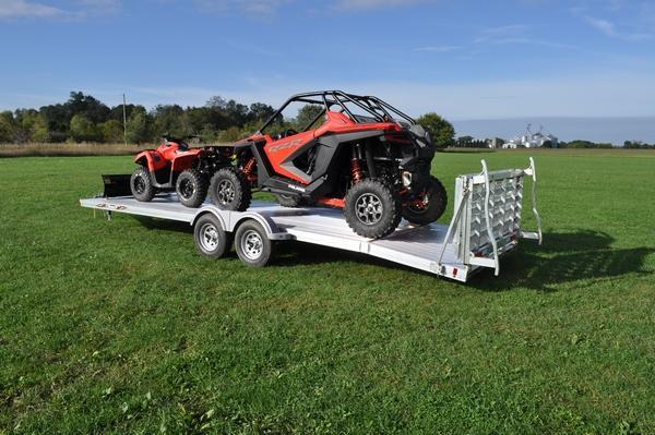 2020 Triton 82 x 24' All Aluminum Open Utility Trailer For Sale