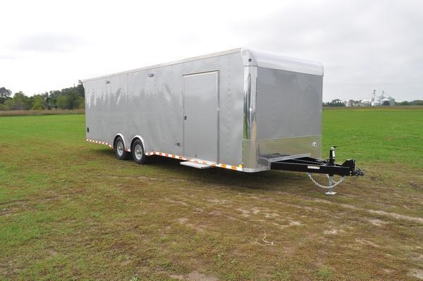 2020 Haul-it 8.5 x 28 LOADED Enclosed Car / Racing Trailer For Sale