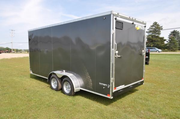 2020 Stealth Trailers 7 x 18 Wedge Nose Enclosed Cargo Trailer For Sale