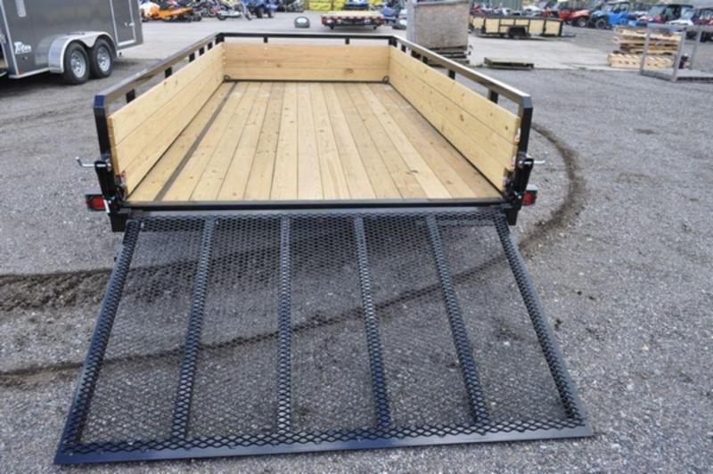 2019 Sure-Trac 7 x 14 Tandem Axle 3 Board High Utility Trailer For Sale