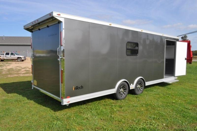 2019 inTech All Aluminum 8.5 x 26 Loaded Car Trailer for Sale