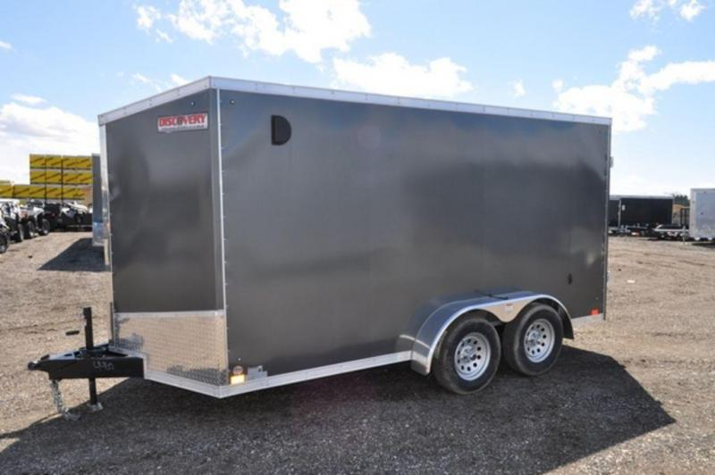 2020 Discovery 7 x 14 Enclosed Cargo Trailer w/ Barn Doors For Sale
