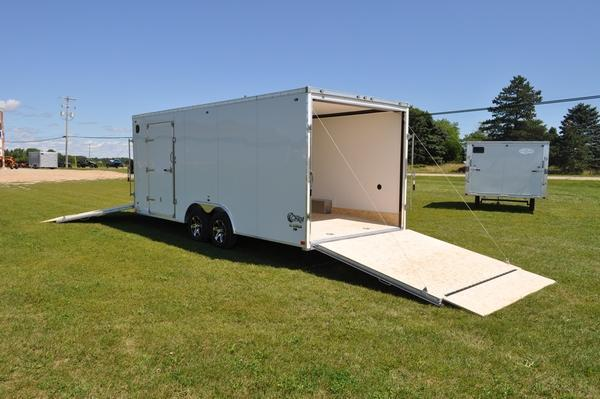 2020 Stealth Trailers 8.5 x 20 + 5 Combo Trailer Snowmobile Trailer For Sale