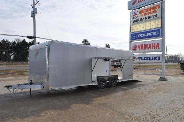 2020 inTech Trailers 8.5 x 24 All Aluminum Car / Racing Trailer For Sale