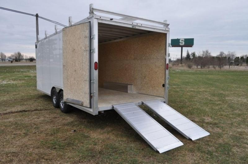 2019 All Aluminum 8.5 x 20 Enclosed HD Construction Trailer For Sale