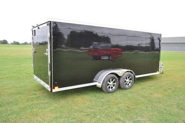 2020 Haul-it 7 x 23 All Aluminum Snowmobile Trailer For Sale