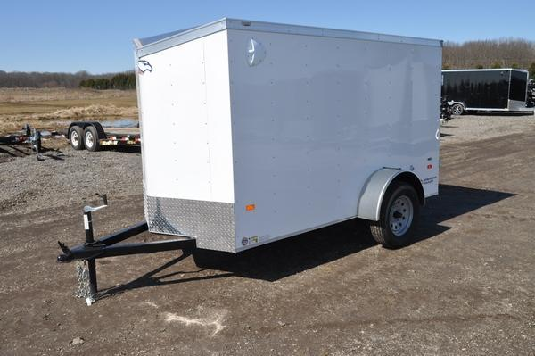 2020 American Hauler 5 x 10 Wedge Nose Enclosed Cargo Trailer For Sale
