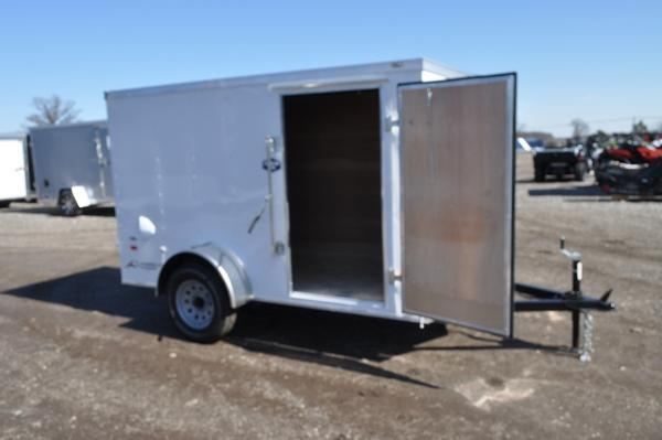 2020 American Hauler 5 x 10 Wedge Nose Enclosed Cargo Trailer For Sale