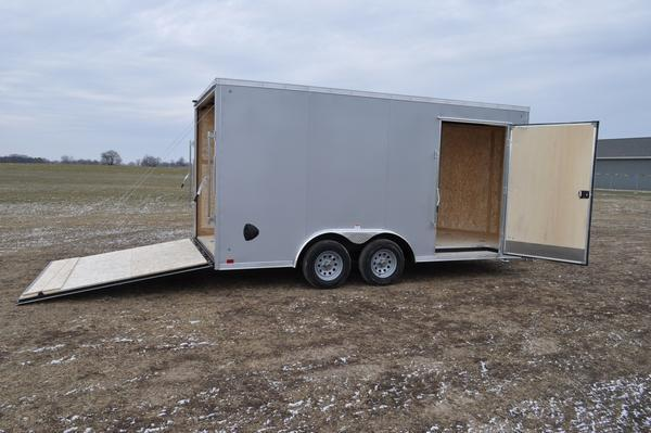 2020 Haul-it 8.5 x 16 Enclosed Enclosed Cargo Trailer For Sale