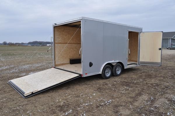 2020 Haul-it 8.5 x 16 Enclosed Enclosed Cargo Trailer For Sale