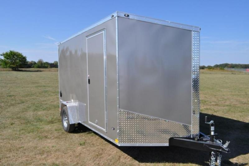 2019 Stealth 7 x 12 Enclosed Cargo Trailer For Sale in Michigan!!