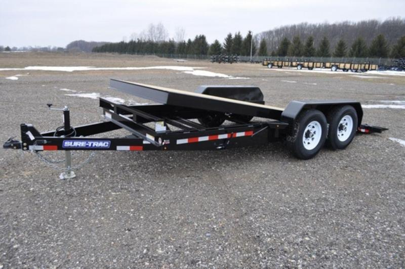 2019 Sure-Trac 7 x 18 HD 14K Tilt Equipment Trailer For Sale