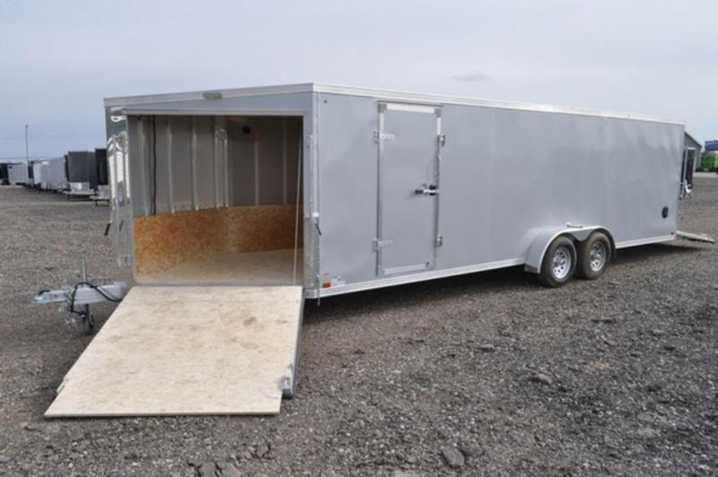 2019 Haul-It 7 x 29 Inline All Aluminum Snowmobile Trailer For Sale