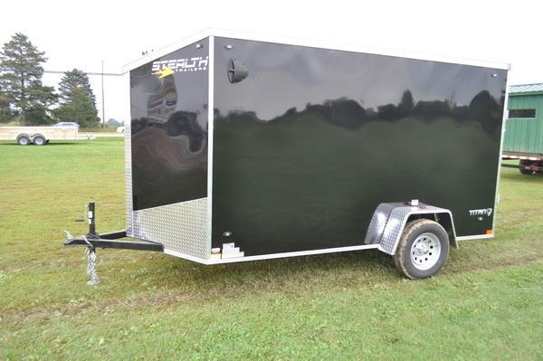 """2020 Stealth Trailers 6 x 12 Enclosed Cargo Trailer W/6'6"""" Interior Height for Sale"""