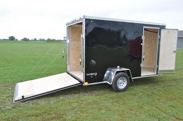 "2020 Stealth Trailers 6 x 12 Enclosed Cargo Trailer W/6'6"" Interior Height for Sale"