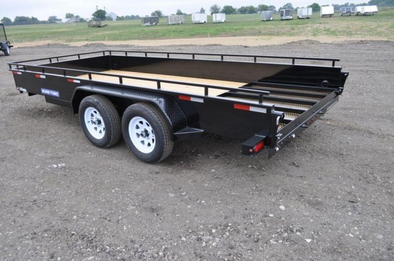 2019 Sure-Trac 7 x 16 Steel Sided Utility Trailer For Sale