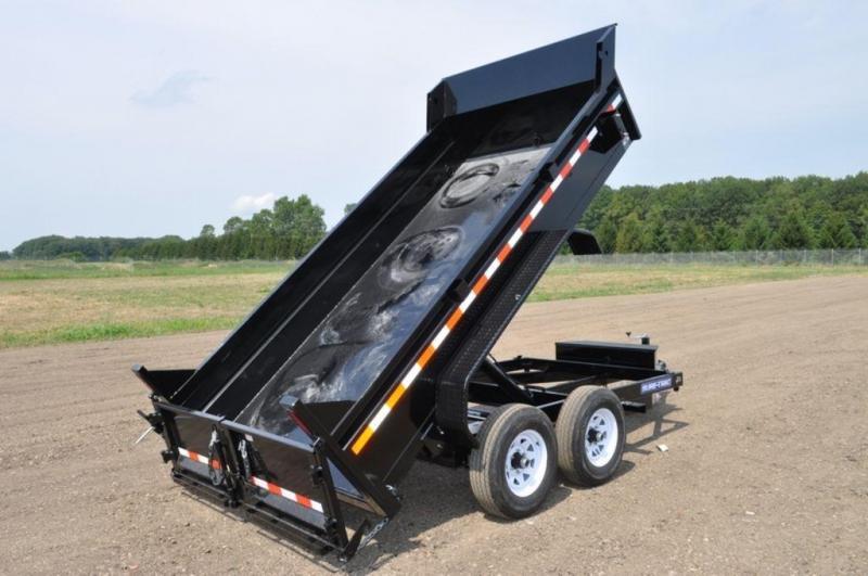 """2020 Sure-Trac 72"""" x 12' Low Profile 10K Dump Trailer For Sale"""