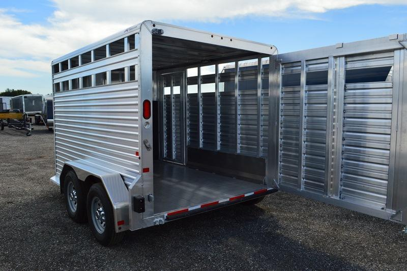 2018 Frontier 7 x 12 All Aluminum Truck Boxes (Livestock and Dog)