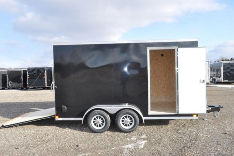 2019 Haul-It 7 x 14 Enclosed Cargo Trailer w/ 7 ft Interior For Sale