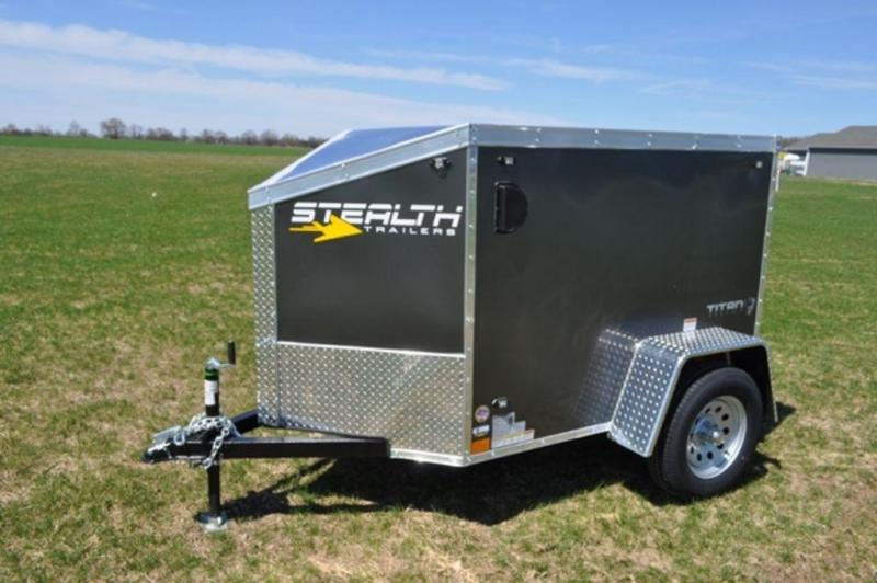 2020 Stealth 4 x 6 Enclosed Cargo Trailer For Sale