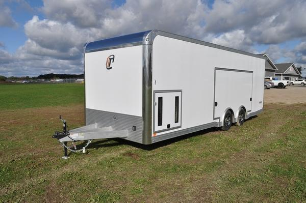 2020 inTech Trailers All Aluminum 8.5 x 24 LOADED Enclosed Car / Racing Trailer For Sale