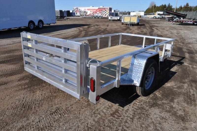 2019 All Aluminum 5 x 10 Tube Top Utility Trailer for Sale