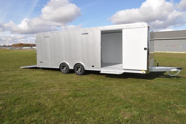 2020 inTech Trailers All Aluminum 8.5 x 24 Car / Racing Trailer For Sale