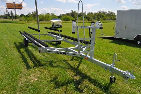 2020 Genesis 20' Float on Pontoon Trailer Watercraft Trailer For Sale