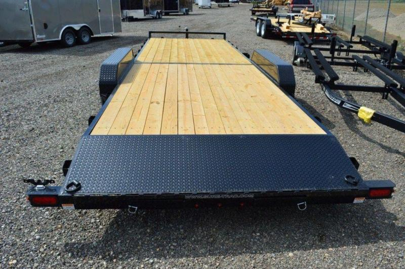 "2019 Sure-Trac 82"" x 24' Wood Deck Car Trailer For Sale"