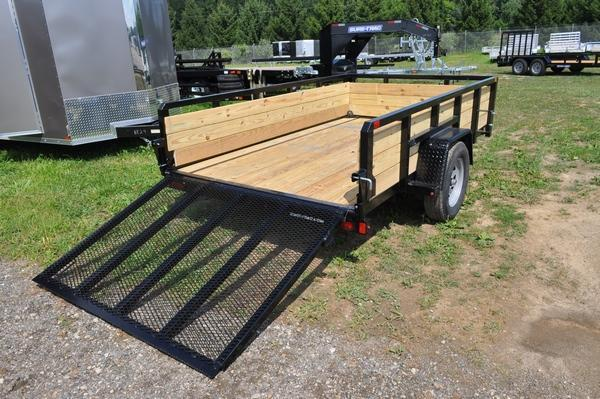 2020 Sure-Trac 6 x 10 3 Board High Utility Trailer For Sale