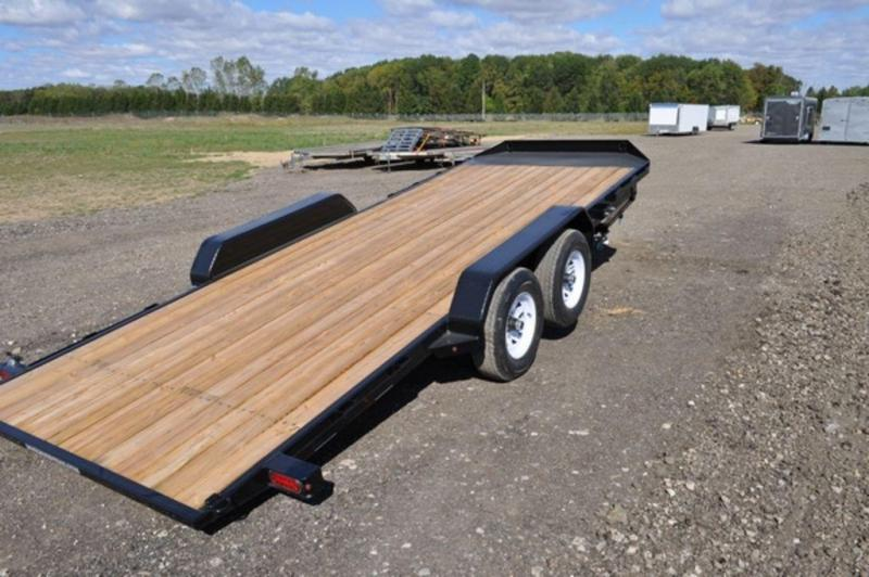 2019 Sure-Trac 7 x 20 Open 10K Manual Tilt Car Trailer For Sale