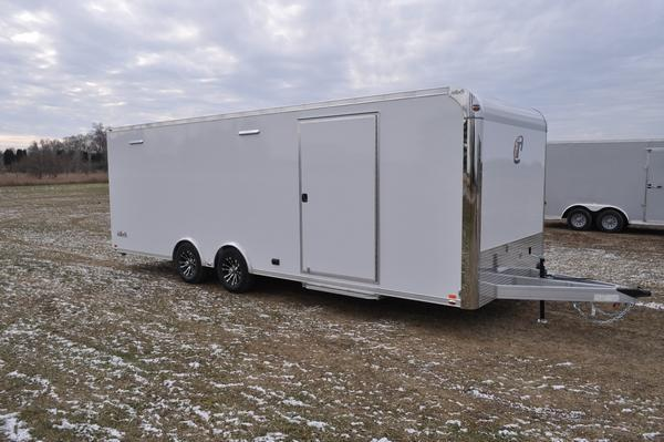 2020 inTech Trailers 8.5 x 24 All Aluminum 10K Car / Racing Trailer For Sale