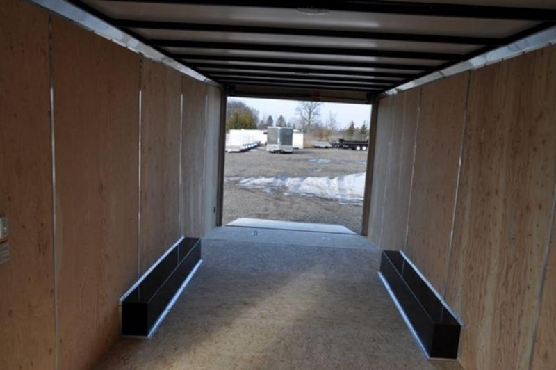2019 Haul-It 8.5 x 24 Enclosed Car Trailer w/ 7 ft Interior For Sale