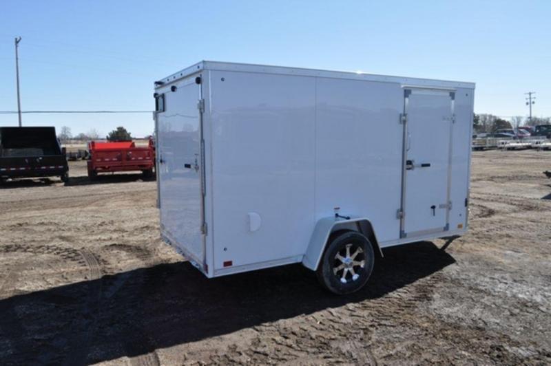 2020 Haul-It 6 x 12 All Aluminum Enclosed Cargo Trailer For Sale
