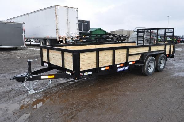 2020 Sure-Trac 7 x 18 Tube Top 3 Board High 10K Utility Trailer For Sale