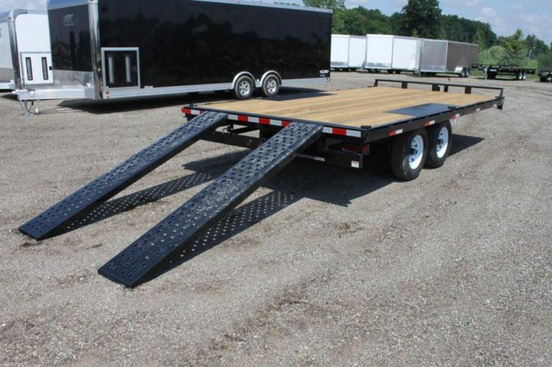 2019 Sure-Trac 8.5 x 16 Open 10K Powder Coated Deckover Trailer For Sale