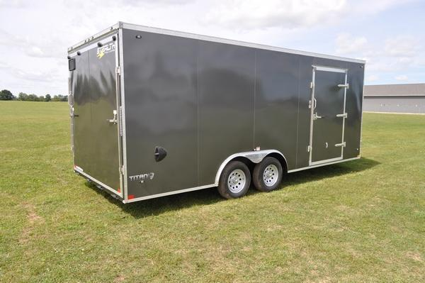 2020 Stealth Trailers 8.5 x 20 Enclosed Car / Racing Trailer